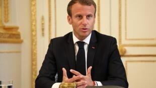 A cewar Macron shi ne ya cancanci ya nemi yafiyar mai dakin ta Audin bisa kisan mai gidanta haka zalika baya bukatar godiya daga gareta.