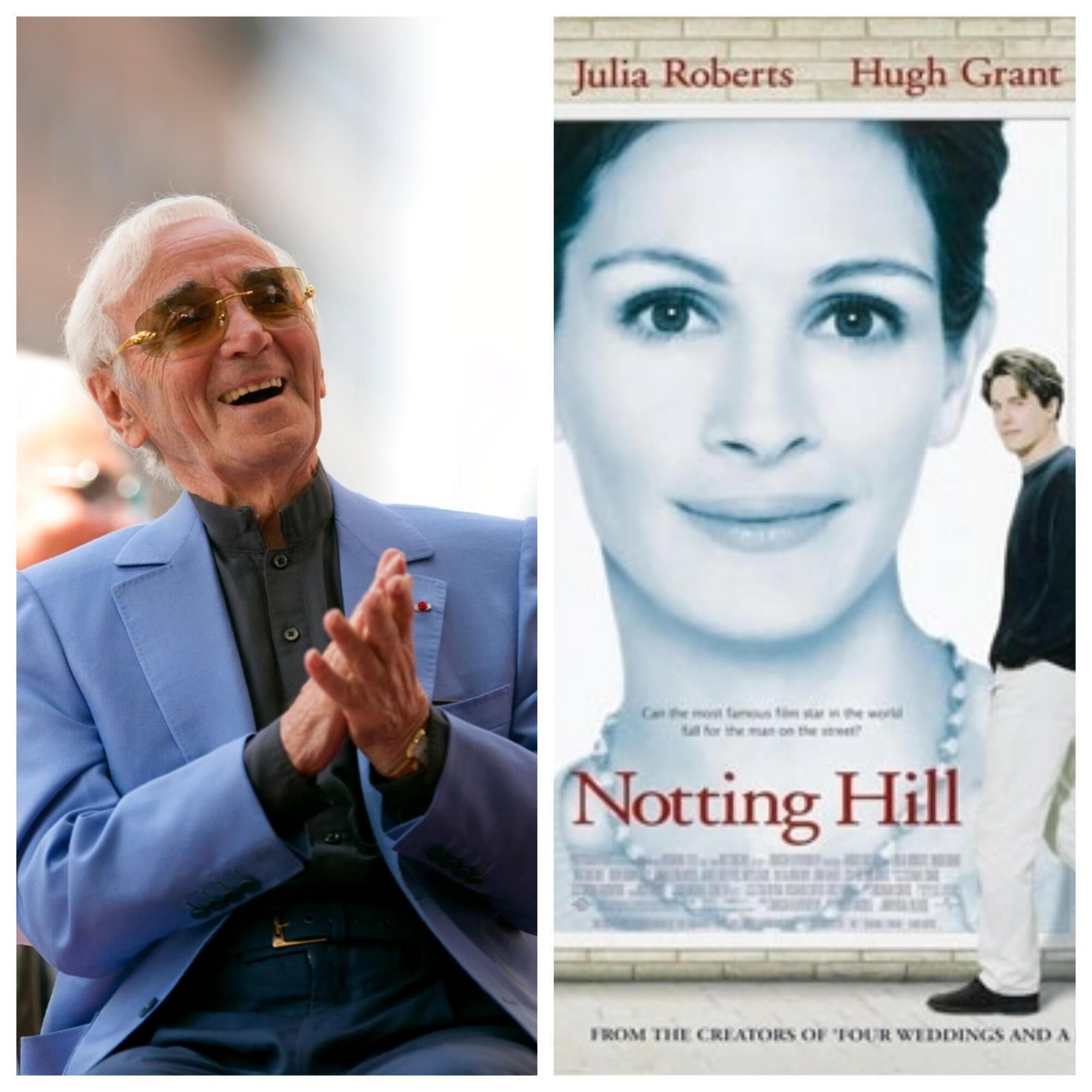 Aznavour et Notting Hill