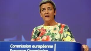 Margrethe Vestager, vice-presidente executiva da comissão europeia quer reabrir fronteiras europeias