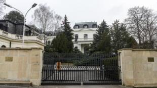Tòa đại sứ Nga ở Praha, Cộng hòa Sec. (Ảnh chụp ngày 26/03/2018)