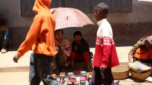 Habitants de Madagascar.