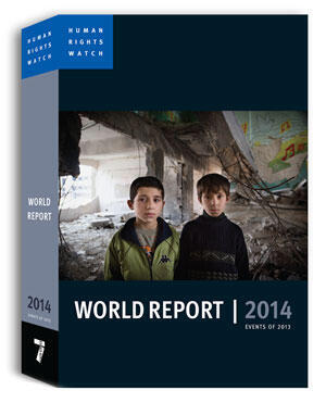 Relatório Mundial de Direitos Humanos 2014 da Human Rights Watch (HRW).