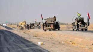 伊拉克政府军攻下库尔德人控制的地方2017年10月20日阿尔贡-库普里省