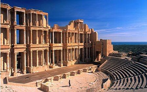 """Античный театр в Гадамесе - """"жемчужине пустыни"""""""
