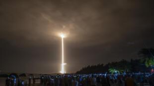 """中國空間站首艙""""天和核心艙""""2021年4月29日成功發射入軌。"""