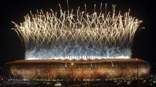 Le stade de Soweto, le 11 juillet 2010 lors de la finale du Mondial sud-africain.