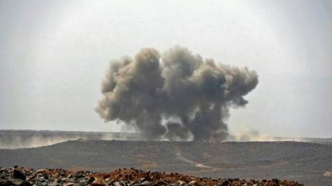 شبهنظامیان حوثی در یمن عملیات نظامی در استان مارب را افزایش دادهاند. تصویر آرشیوی