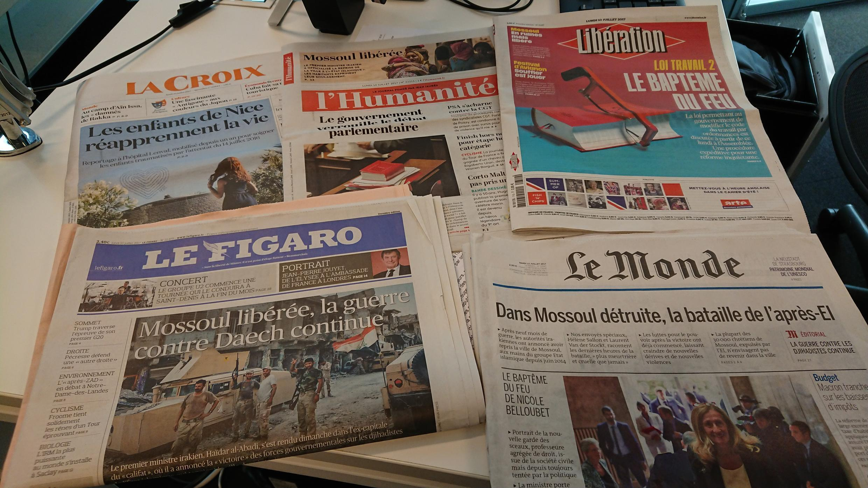 Diários franceses 10.07.2017