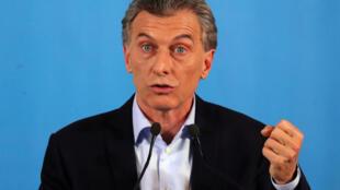 """O presidente da Argentina, Mauricio Macri, disse que """"imposto é ruim, mas trata-se de uma emergência"""""""