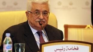 Esmat Abdel Khalik a été emprisonnée pour des écrits sur Facebook critiquant le président de l'Autorité palestinienne Mahmoud Abbas..