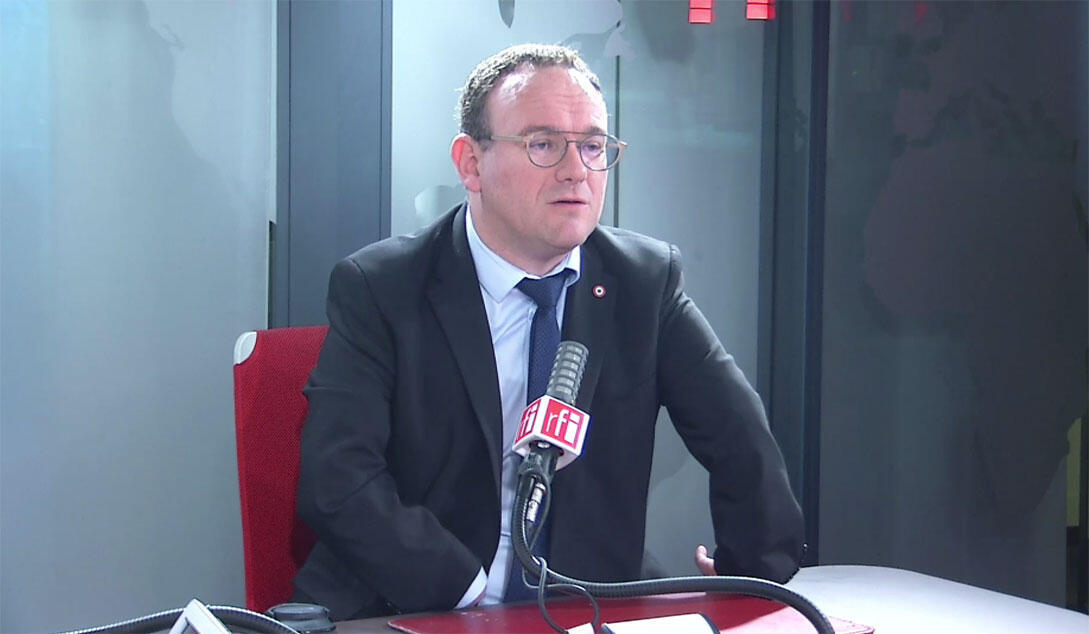 Damien Abad, député de l'Ain, président des députés Les Républicains à l'Assemblée nationale.