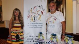 Официальный представитель ассоциации «Что? Где? Когда?» наКипре Владимир Гусаров
