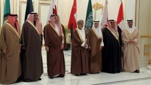 Tawagar wasu daga cikin shugabannin Gabas ta tsakiya da suka kunshi wakilcin Saudiya da na Iran.