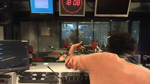 Le studio des programmes en mandingue de RFI.