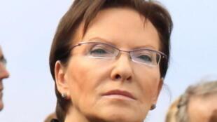 Ewa Kopacz, Premier ministre de la Pologne.