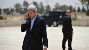 O secretário de Estado americano, John Kerry, anuncia nesta sexta-feira a retomada de negociações entre israelenses e palestinos.