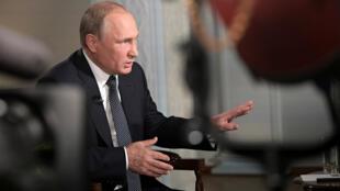普京接受福克斯新闻采访2018年7月16日赫尔辛基