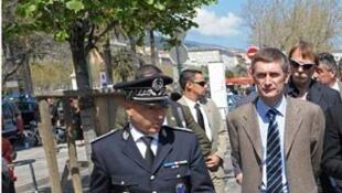 Генеральный директор фарнцузской национальной полиции Фредерик Пешнар