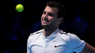 Grigor Dimitrov won all three of his matches in the group stages at the 2017 ATP Finals.