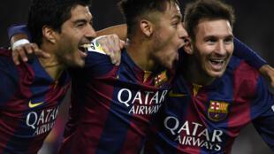 Suarez, Neymar, Messi : 3 cầu thủ nổi tiếng nhất Nam Mỹ đều đến Chilê tham gia giải Copa America - AFP / LLUIS GENE