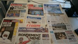 Diários franceses 20/07/2015