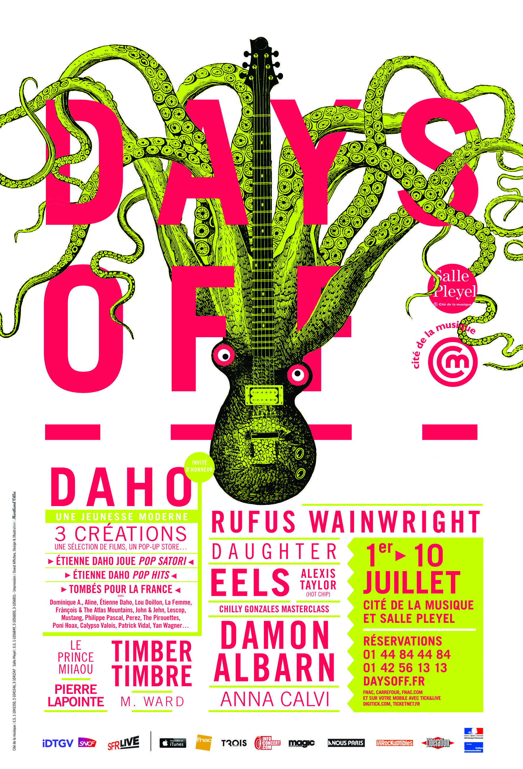 Affiche du festival Days Off