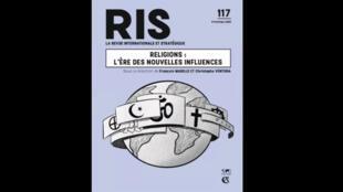 """Couverture de la revue RIS n° 117 """"Religions: l'ère des nouvelles influences""""."""