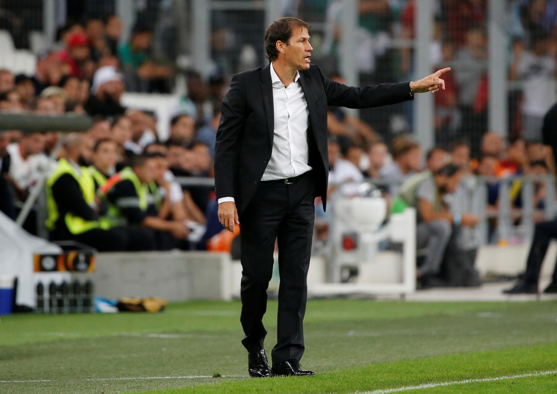 Rudi Garcia, treinador do Olympique de Marselha