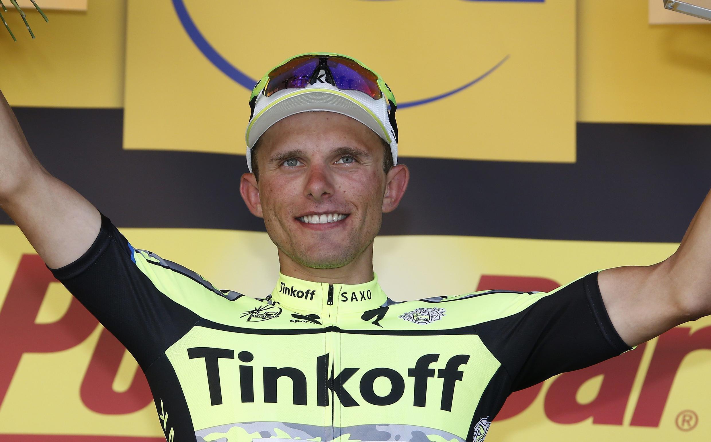 Rafal Majka, le vainqueur à Cauterets pour la 11e étape.