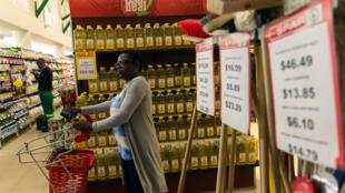 En juin 2019, l'inflation a atteintun pic record de 175,7% au Zimbabwe.