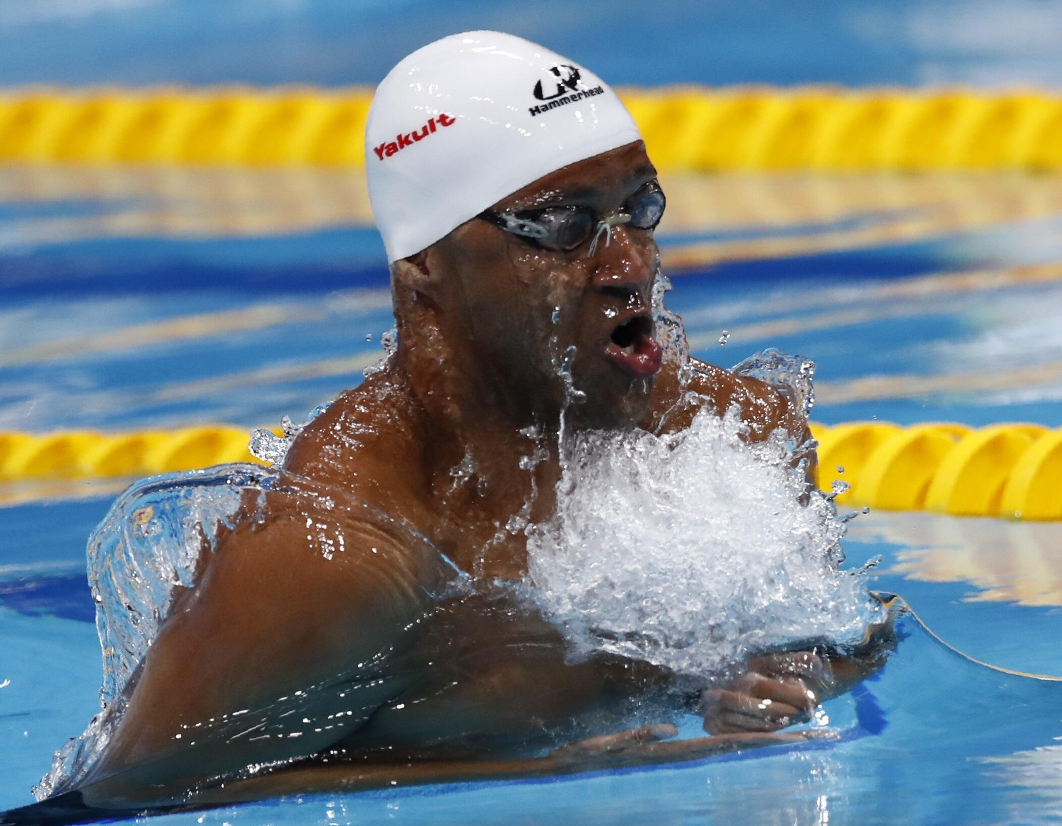 João Gomes Jr. é prata no Mundial de Natação