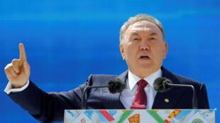 Noursoultan Nazarbaïev, le 1er mai 2016.
