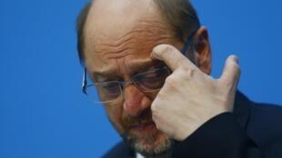 Martin Schulz, le 7 février 2018.