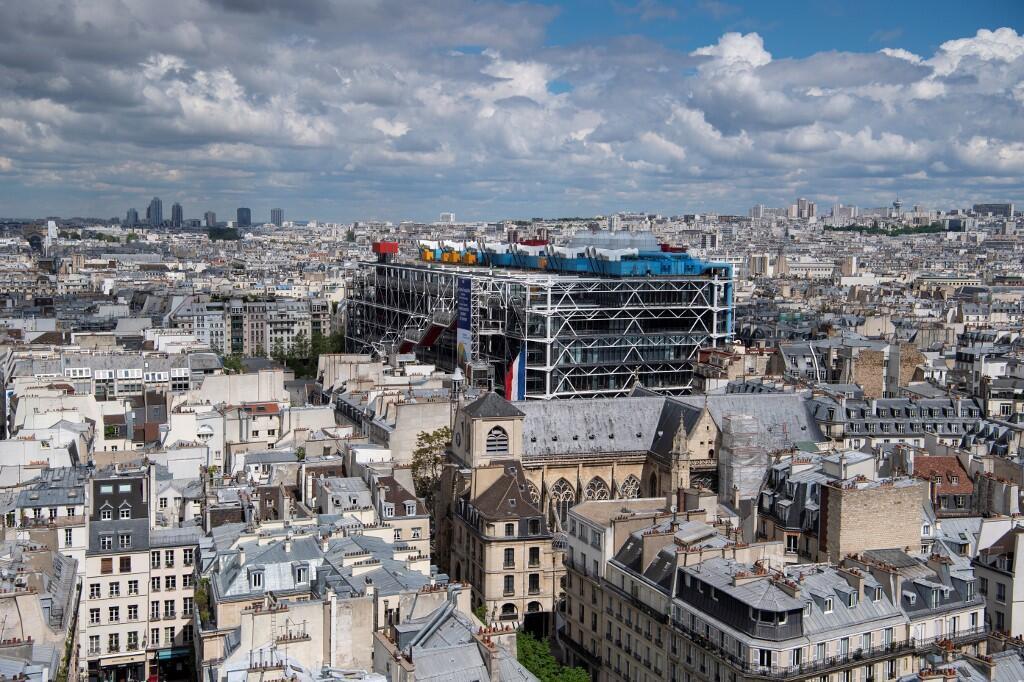 Le Centre Pompidou est fermé pour une durée indéterminée à cause du coronavirus.
