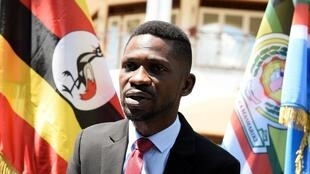 Bobi Wine, le 24 septembre 2018 à Kampala.