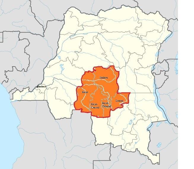 Les cinq provinces touchées par les violences.