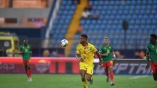 Le Béninois Steve Mounié lors de la CAN 2019.