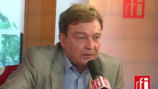 Pierre Henry, président de l'association France Terre d'Asile.