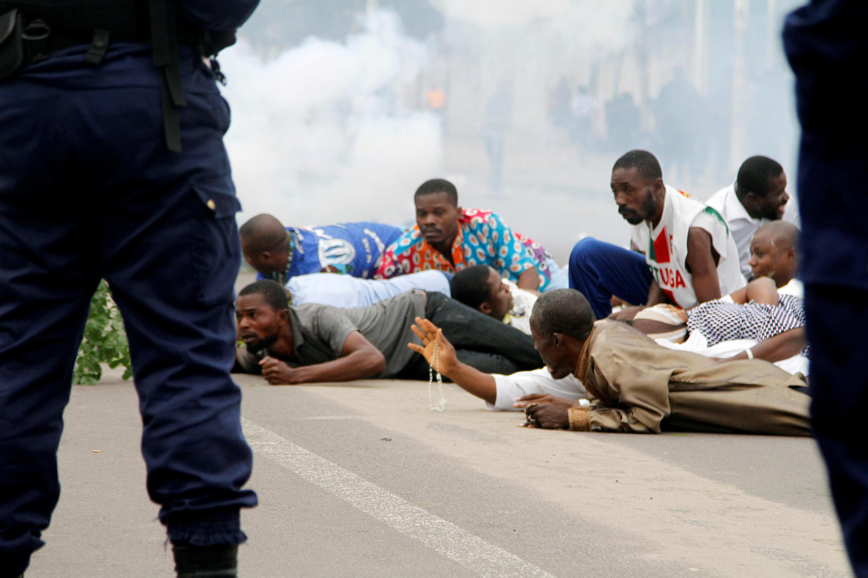 Mambo yalivyokuwa jijini Kinshasa wakati wa maandamano yaliyopita