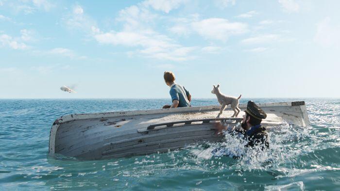 Les aventures de Tintin sont aussi au cinéma!!