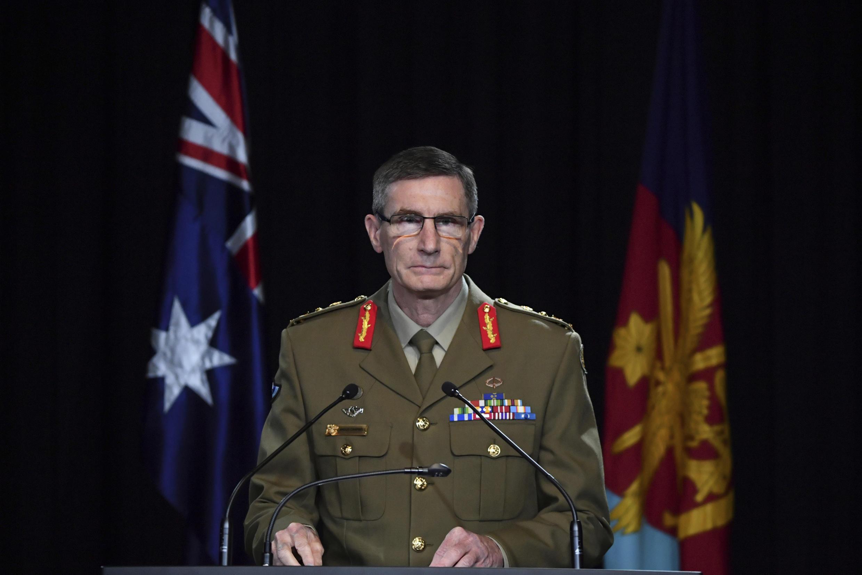 جنرال انگوس کمبل، فرمانده ارشد وزارت دفاع استرالیا