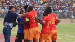 Klabu ya Saint George ya Ethiopia baada ya kuishinda AS Vita Club ya DRC