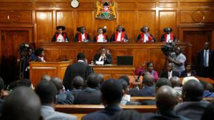La Cour suprême a invalidé l'élection présidentielle qui s'est tenue au Kenya, en août.