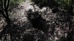 Une fosse commune découverte autour d'Iguala, la ville où 43 étudiants ont disparu depuis le 26 septembre.