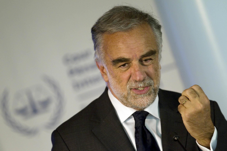 El fiscal de la Corte Penal Internacional Luis Moreno Ocampo.