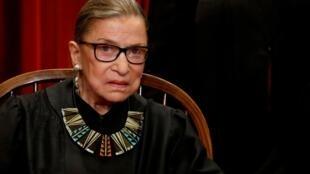 Ruth Bader Ginsburg, la doyenne de la Cour suprême américaine, est décédé ce vendredi 18 septembre 2020.