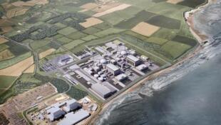 欣克利角C项目-英国欣克利角核电站平面图