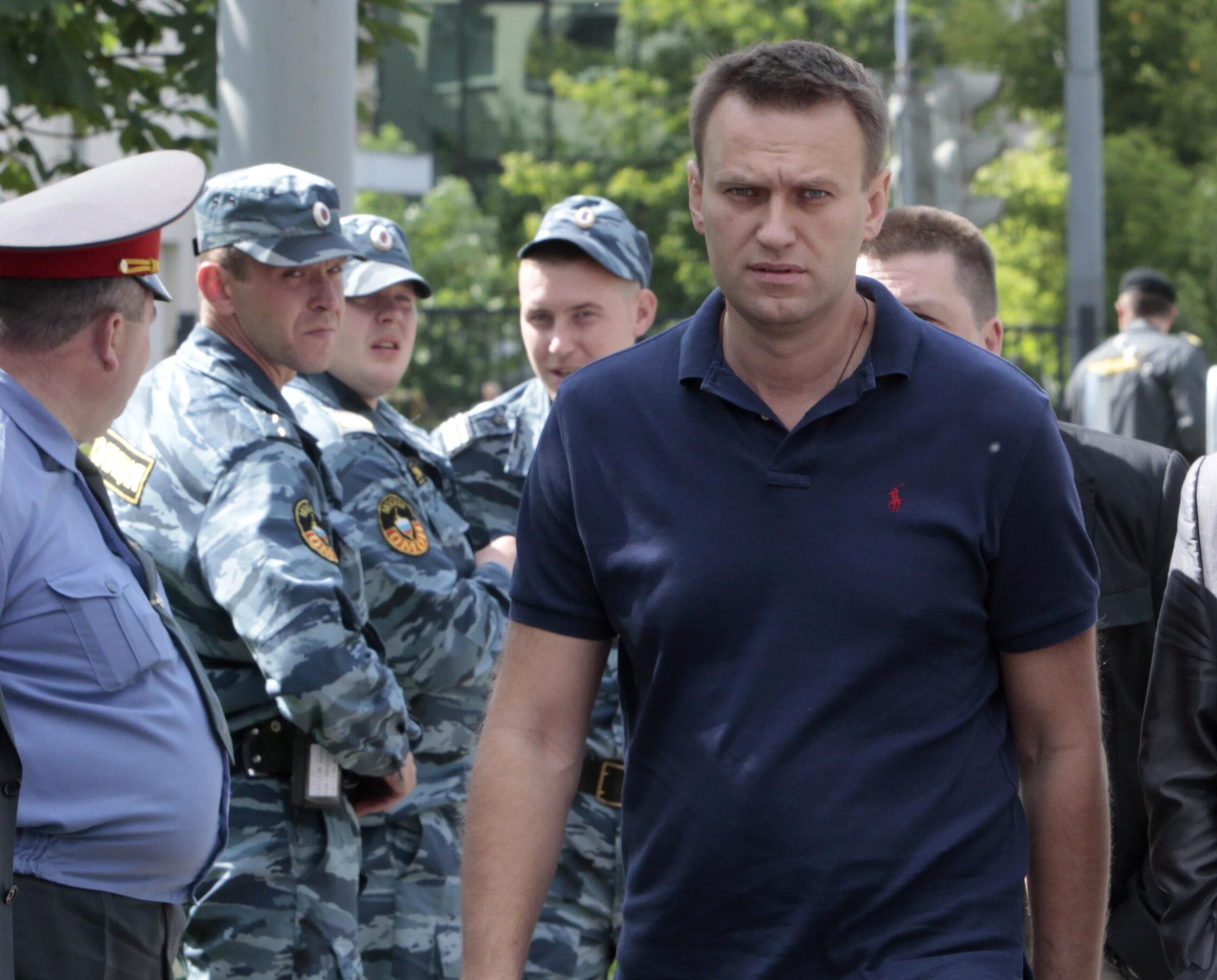 Nhà đối lập người Nga Alexei Navalny (REUTERS)