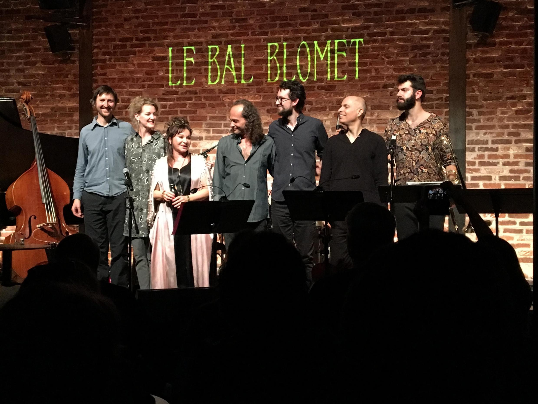 Natacha Atlas and top-class musicians launch Strange Days at Le Bal Blomet in Paris 3 October 2019.