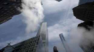 The headquarters of Goldman Sachs is seen here in New York